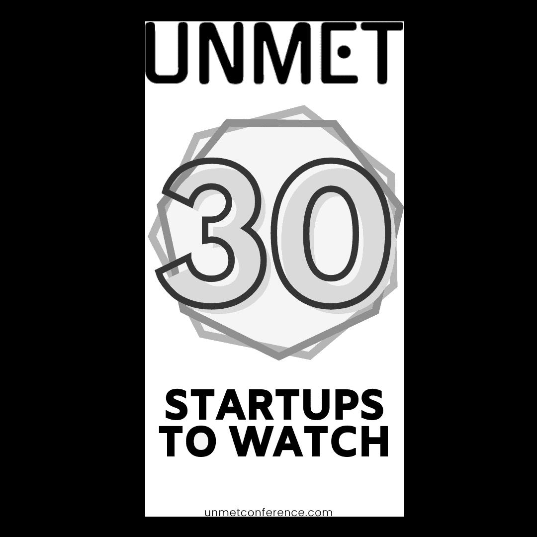 UNMET 30 Startups To Watch